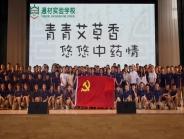 青青艾草香,悠悠中药情 ——中共简阳市中医医院委员会宣传中医药文化