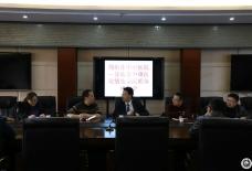 甘孜县中藏医院副院长康军一行到 简中医商谈紧密型医联体建设工作